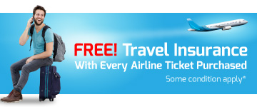 See Free Travel Insurance Schedule of Benefit